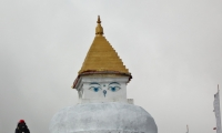 Chorten along the way