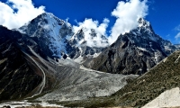 Heading towards Lobuche