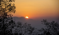 Surise from Nagarkot