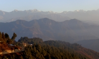 View from the top of Nagarkot