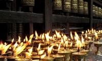 Candles at Boudhanath