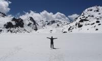 Langtang-snow