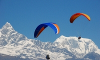 Pokhara-Paragliding