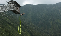 Bungy jump from Pokhara