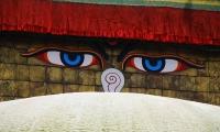 Eyes Swyambhunath