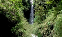 You will come acorss waterfalls on the way