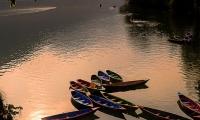 Boats at Phewa lake Pokhara