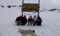 Foggy day at Annapurna Base Camp