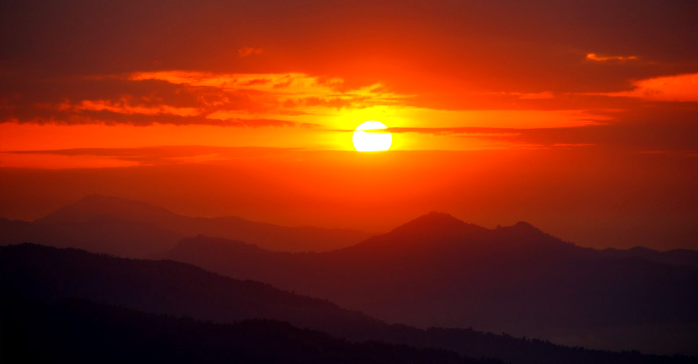 nagarkot-sunset